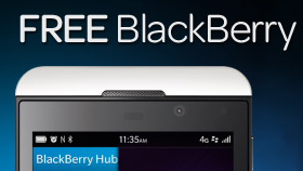 Free BlackBerry Z10 from £25 per month