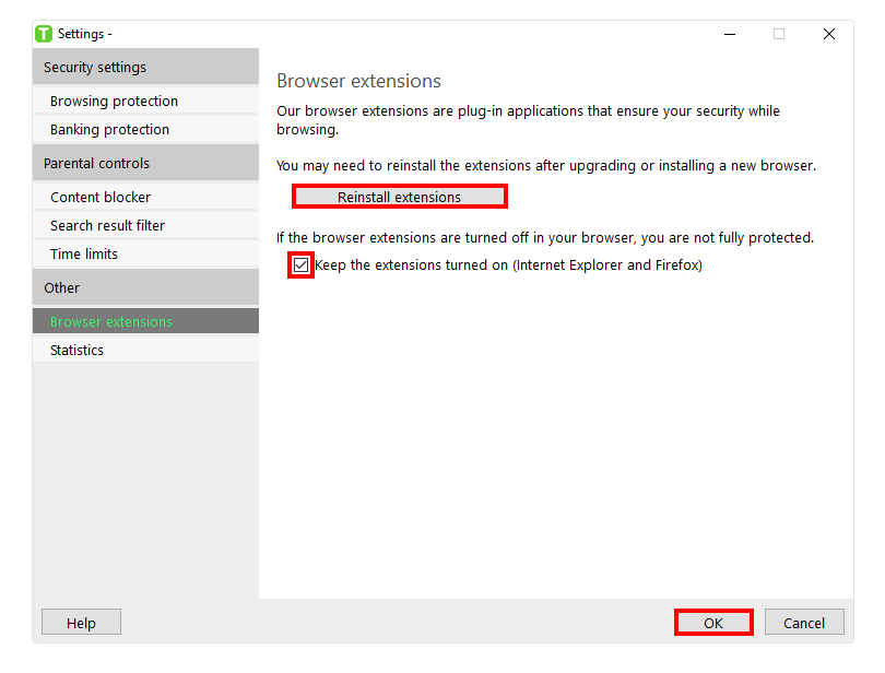 Solved: Supersafe browser extension not installed or turne
